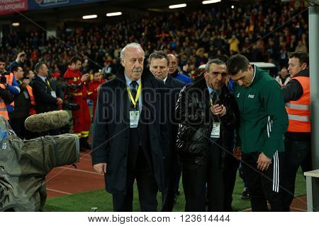 Vicente Del Bosque, Coach Of The National Football Team Of Spain