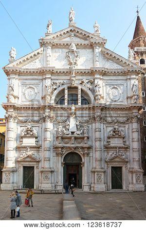 Facade Of San Moisè