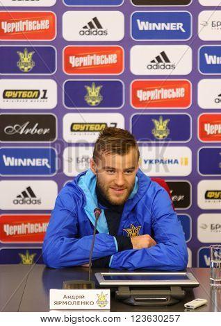 Ukraine - Wales: Pre-match Press-conference In Kyiv, Ukraine