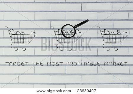 Analyzing Empty Vs Full Shopping Carts, Target Market
