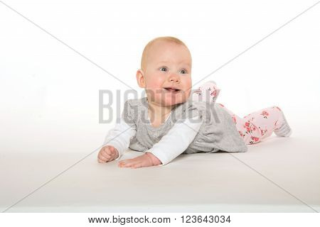 Six-month-old Baby Girl
