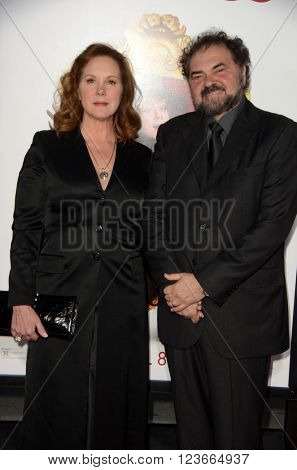 LOS ANGELES - MAR 28:  Elizabeth Perkins, Julio Macat at the The Boss World Premeire at the Village Theater on March 28, 2016 in Westwood, CA