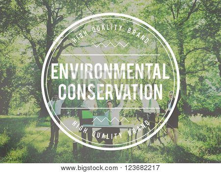 Environmental Conservation Global Ecology Eco Concept
