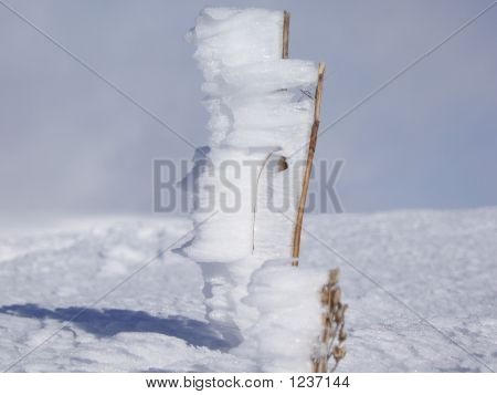 Snowy-sticks