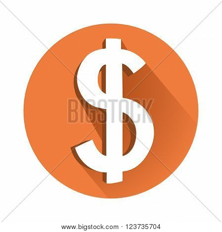 This is an illustration of dollar symbol