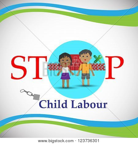 Concept of Child Labour also Illustrates the employment of children in any work that deprives children of their childhood.