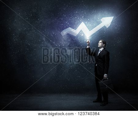 Growth and income concept