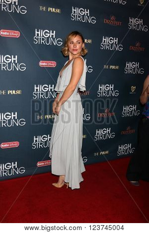 LOS ANGELES - MAR 29:  Briana Evigan at the High Strung Premeire at the TCL Chinese 6 Theaters on March 29, 2016 in Los Angeles, CA