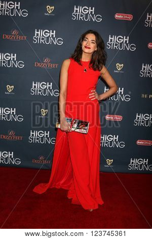 LOS ANGELES - MAR 29:  Anabel Kutay at the High Strung Premeire at the TCL Chinese 6 Theaters on March 29, 2016 in Los Angeles, CA