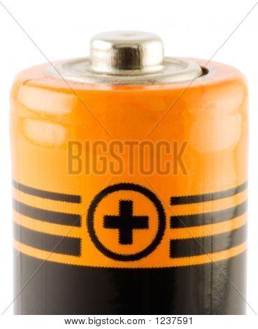 Battery Aa. Positive