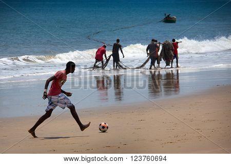Africa, Sierra Leone, Freetown