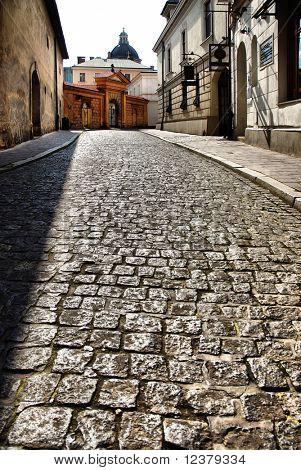 old street in Krakow, Poland. See more in my portfolio.