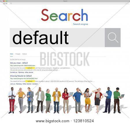 Search Default Laptop People Concept