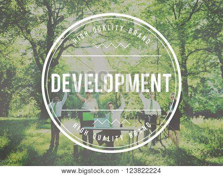 Development Change Growth Improvement Success Concept