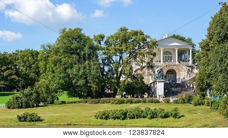 Cameron Gallery in Tsarskoe Selo, Pushkin town