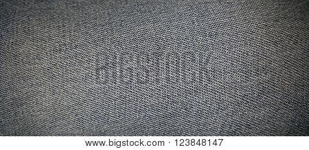 Texture of denim. Texture of jeans.  Dark blue Background