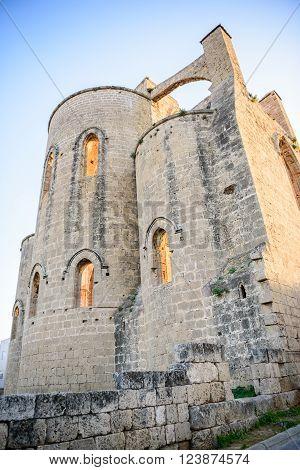 Lala Mustafa Pasha Mosque in Famagusta, Northern Cyprus