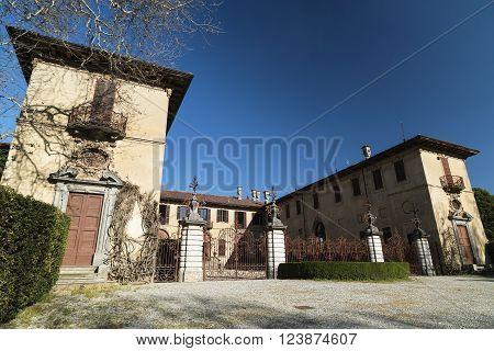 Historic villa in Brianza near Tregasio (Monza Lombardy Italy)