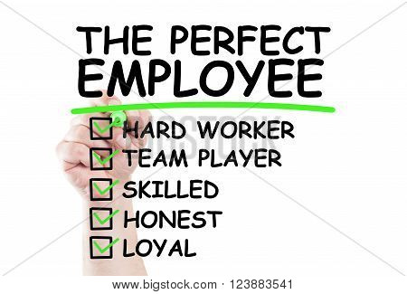 Perfect Employee Checklist