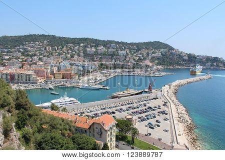 Saint-Tropez -is small seaport on the coast in department Var. The most popular and prestigious resort on all Riviera.