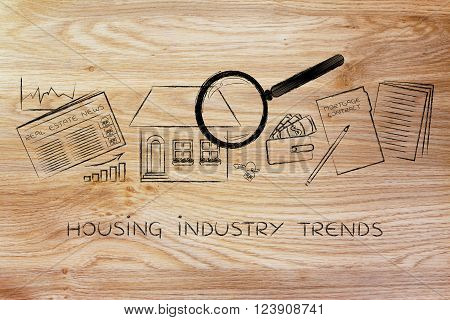House, Real Estate Data And Contract, Housing Industry Trends