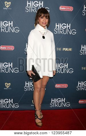 LOS ANGELES - MAR 29:  Paula Abdul at the High Strung premiere at the TCL Chinese 6 Theaters on March 29, 2016 in Los Angeles, CA