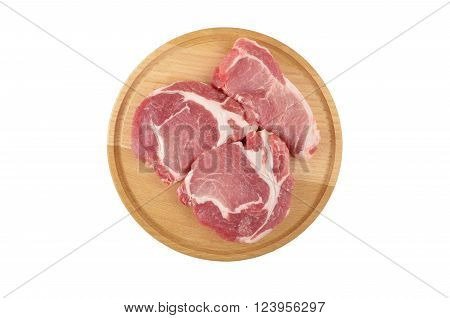Raw Meat Steak