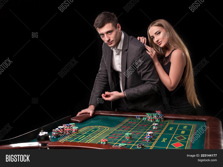 Elegant Couple Casino Image & Photo (Free Trial) | Bigstock