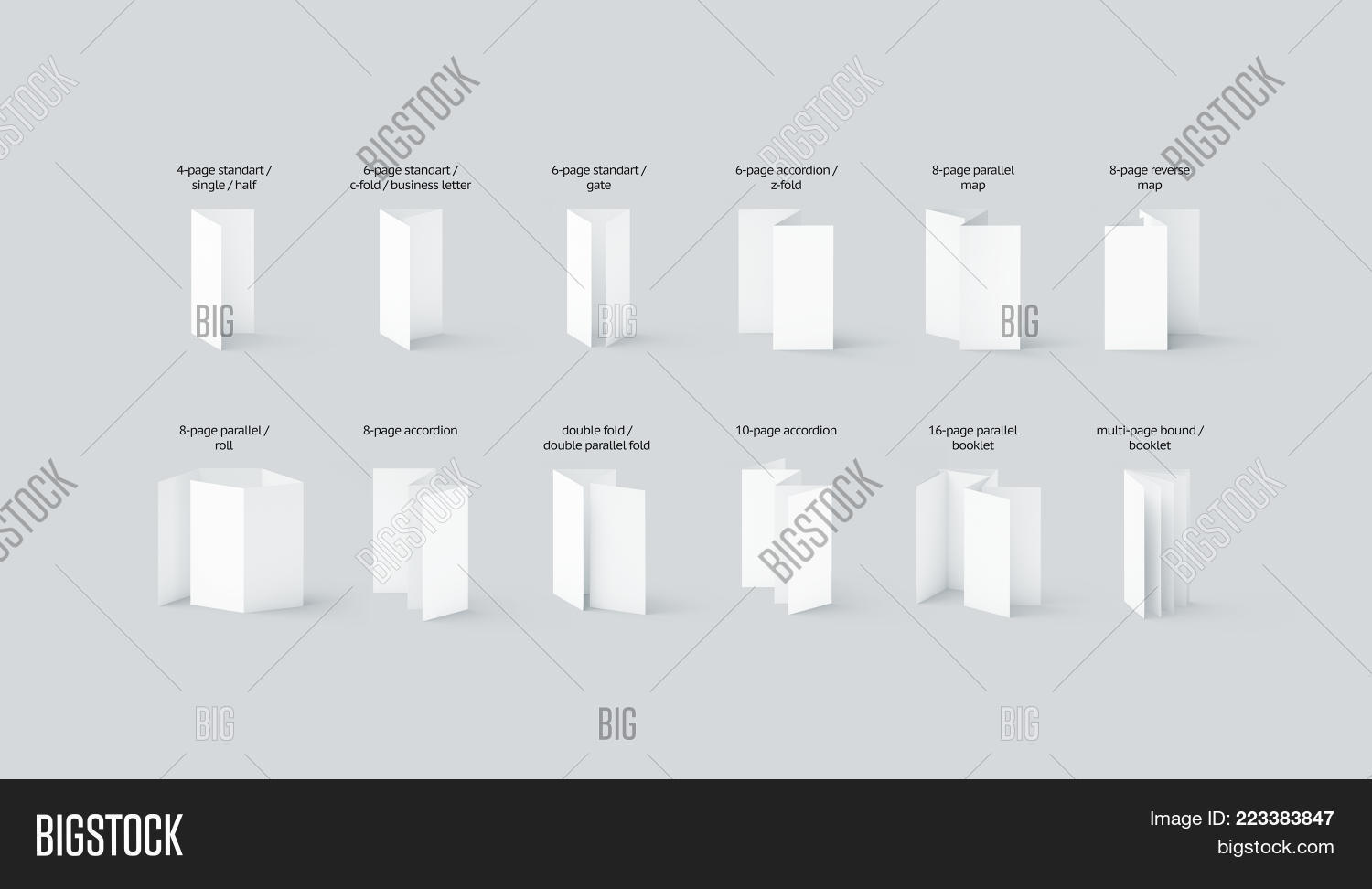 Blank Flyers Booklets Image & Photo (Free Trial) | Bigstock