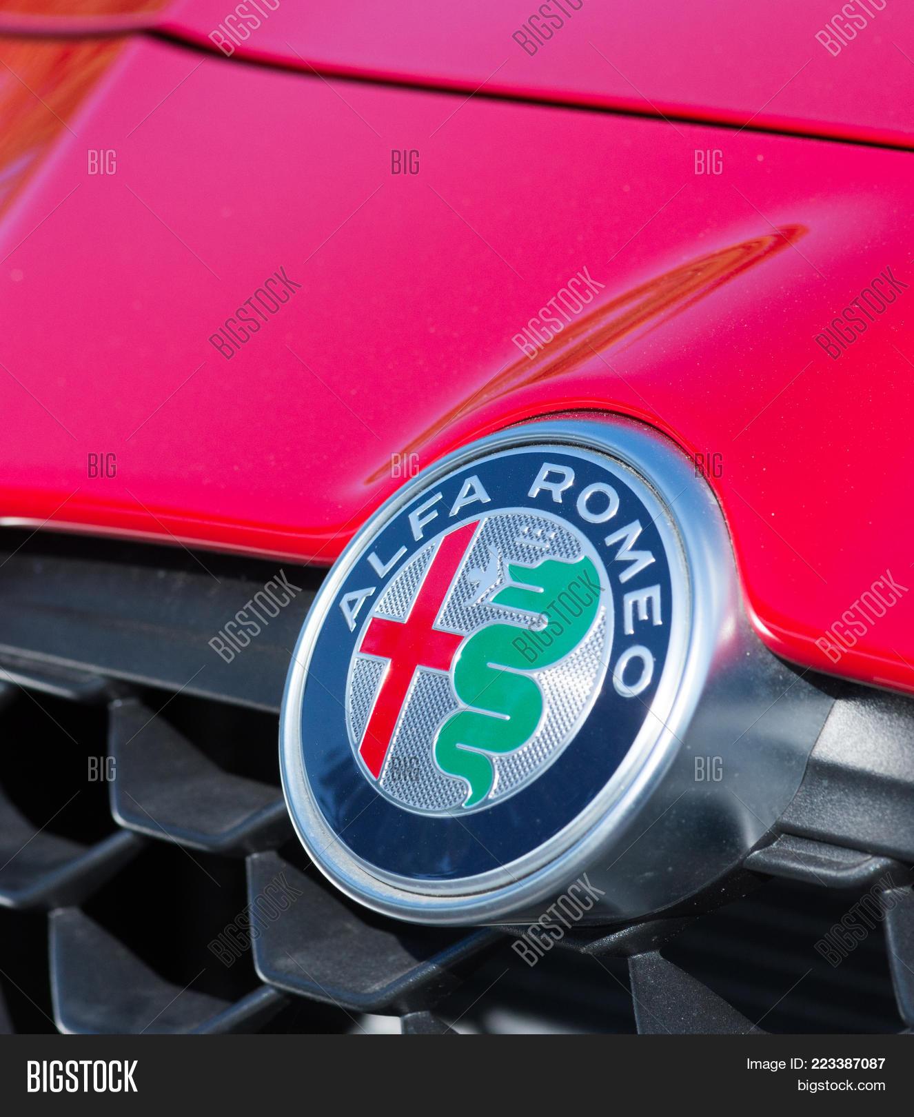 Romania September 2 Image Photo Free Trial Bigstock Alfa Romeo Symbol 2017 Logo On In