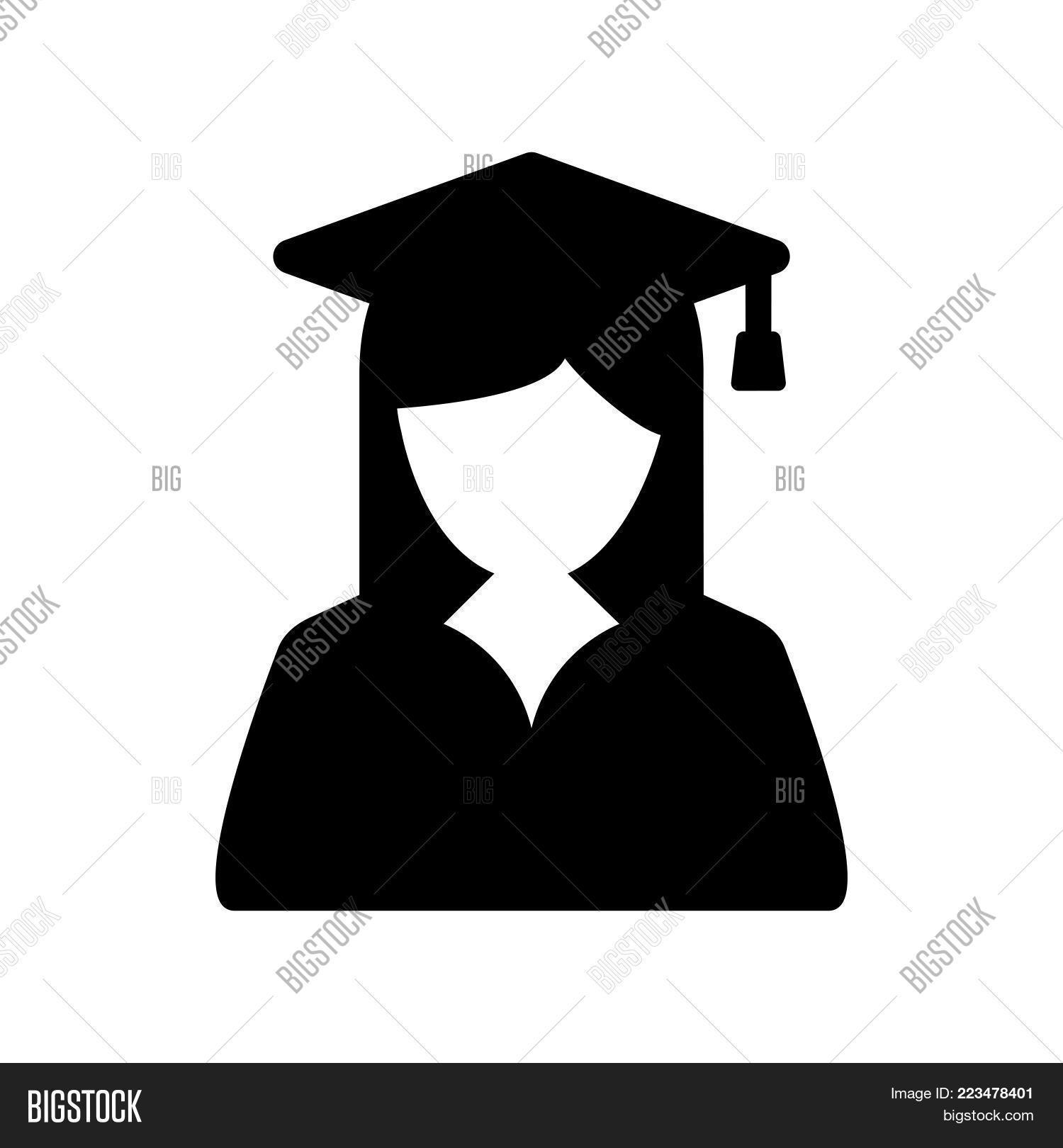 Graduate Student Icon Vector Photo Free Trial Bigstock