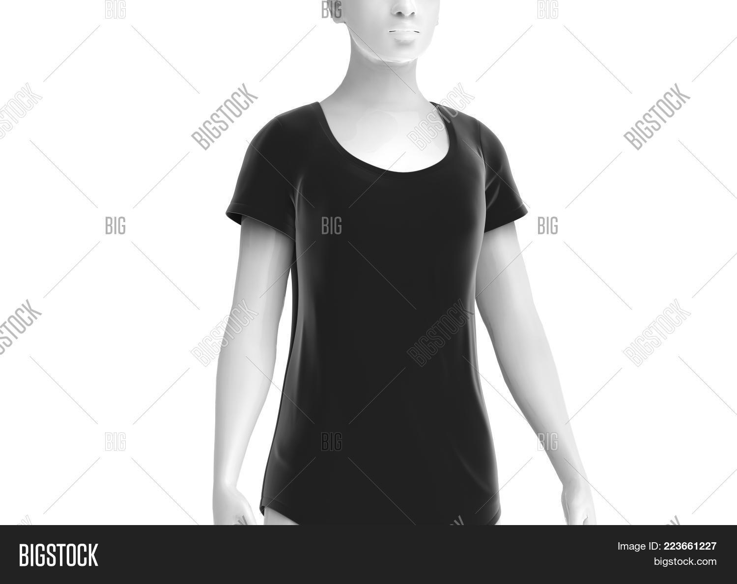 Scoop Neck Shirt Image & Photo (Free Trial) | Bigstock