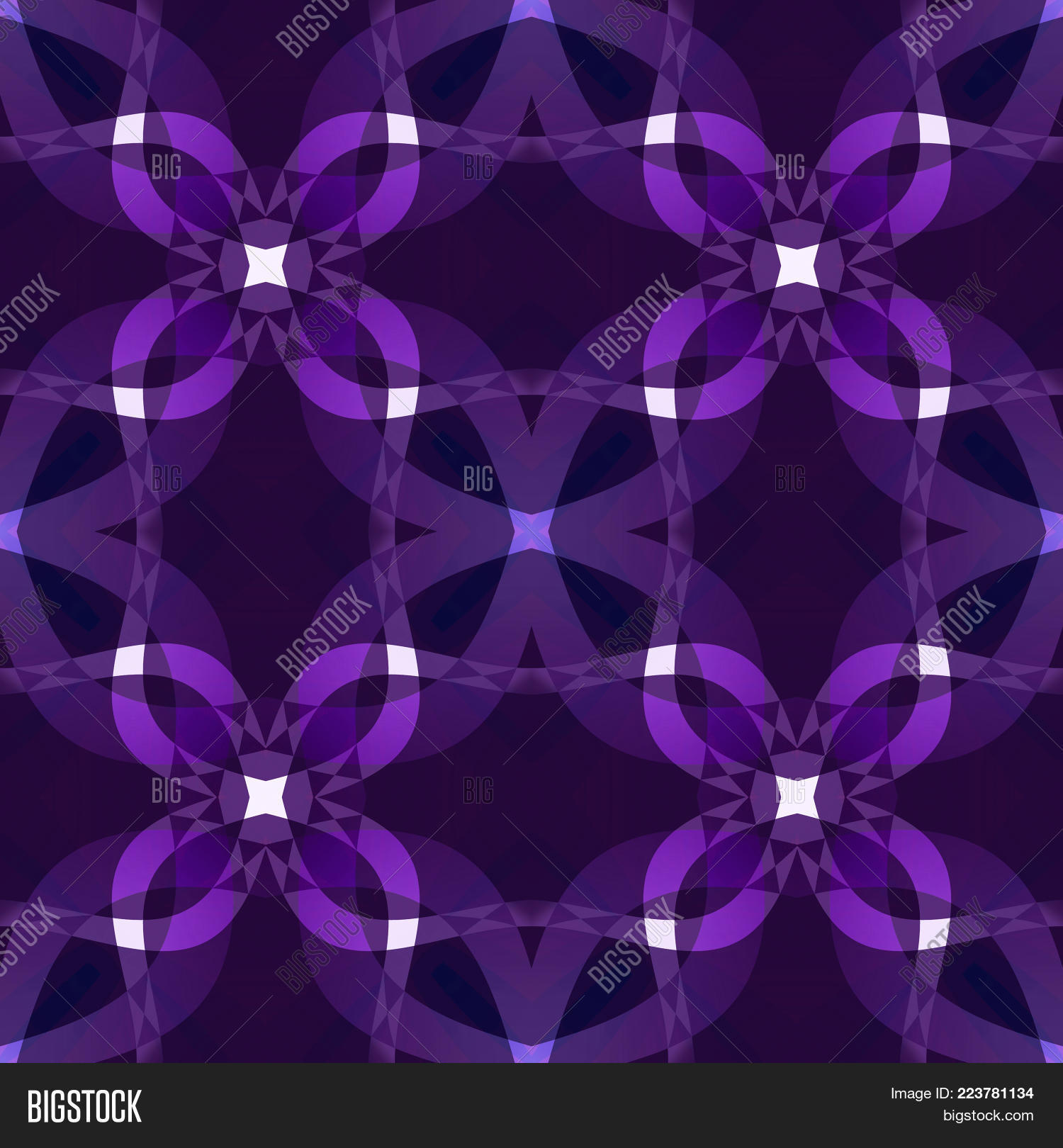 Dark Purple Modern Abstract Texture Seamless Tile Violet Background Illustration Textile Print Pattern