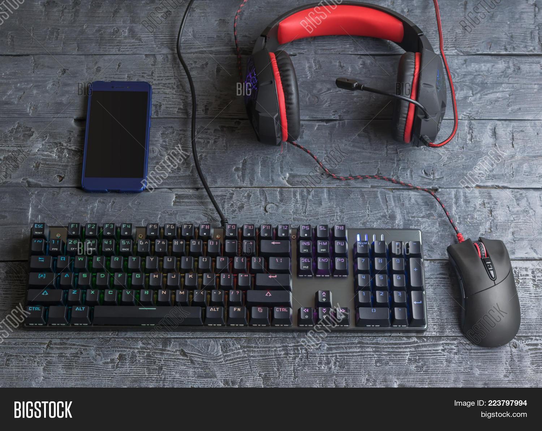 Illuminated Gaming Image & Photo (Free Trial) | Bigstock