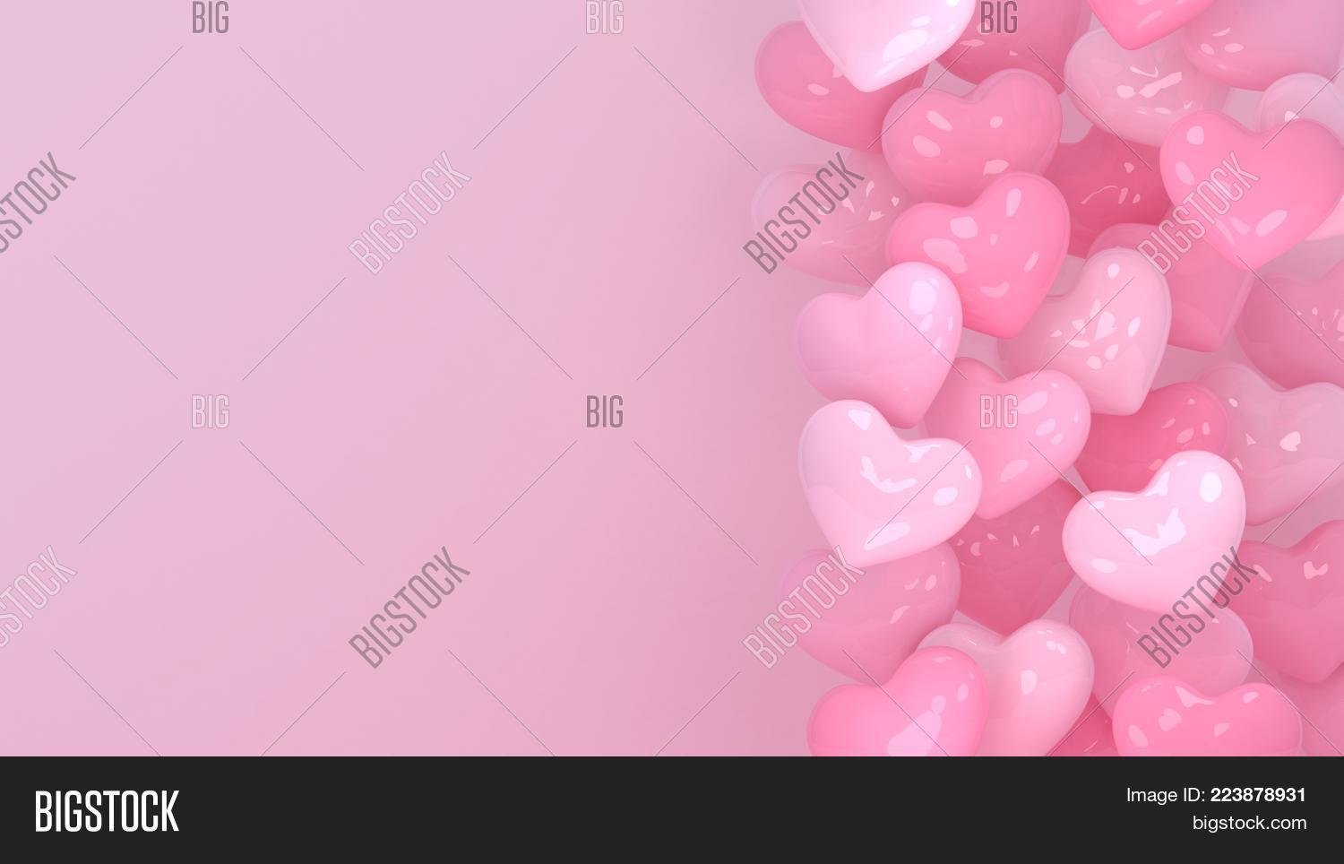 Hearts Background Image Photo Free Trial Bigstock
