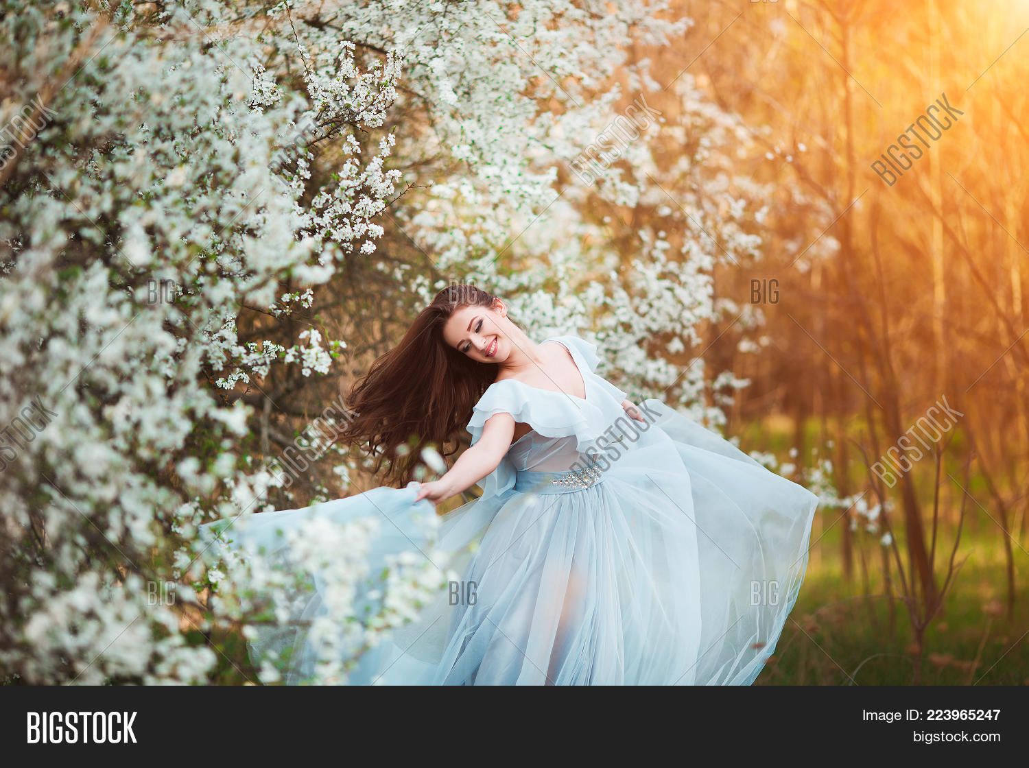 Beauty Girl Outdoors Image Photo Free Trial Bigstock