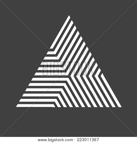 Vector Hipster Triangle Background . poster with different elements. Abstract Geometrical Poster. Modern Design Template with geometric shape in various forms.illustration.