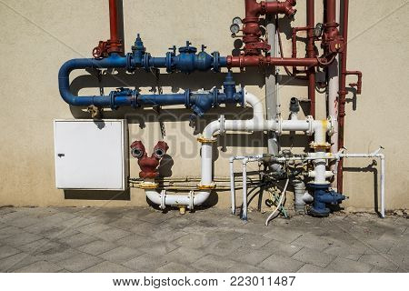 Industrial system of water supply and fire fighting in Israel
