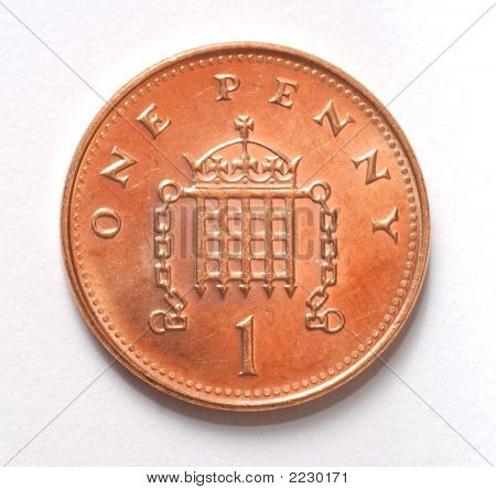 British Penny Coin