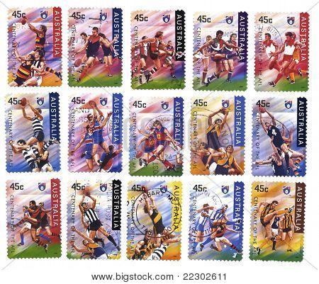 Sport, Australia Afl Stamps
