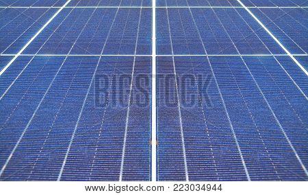 clean alternative energy, a solar panel closeup