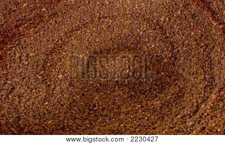 Coffee Ground Background