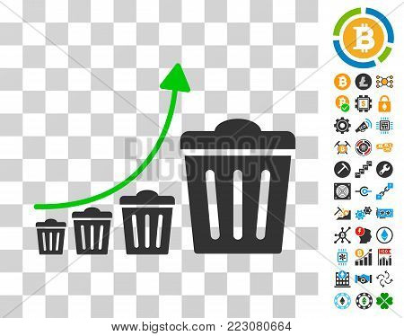 Trash Growing Trend Vector & Photo (Free Trial) | Bigstock