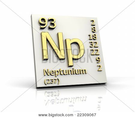 Neptunium Form Periodic Table Of Elements