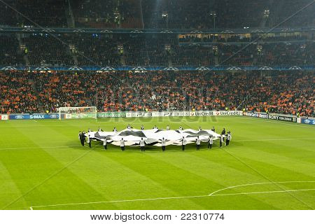 Traditional Start Of The Champions League Match
