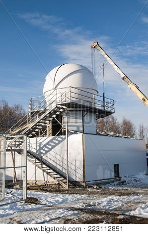 Special Astrophysical Observatory Of Russian Academy Of Sciences Located In Mountain Area