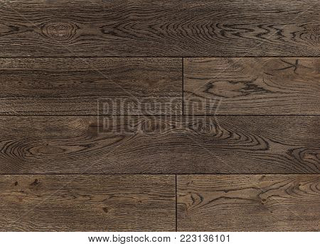 Wood texture background for design, oak toned grey old fashioned board .