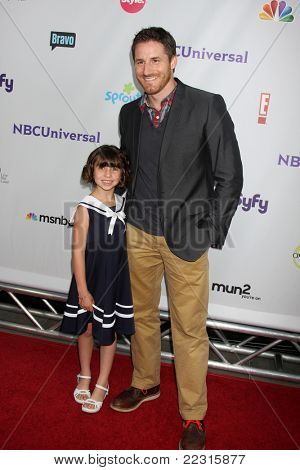 LOS ANGELES - AUG 1:  Savannah Paige Rae, Sam Jaeger arriving at the NBC TCA Summer 2011 All Star Party at SLS Hotel on August 1, 2011 in Los Angeles, CA