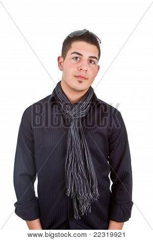 Teenager With Modern Clothes
