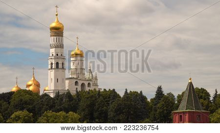 Ivan the Great bell tower Moscow. Russia